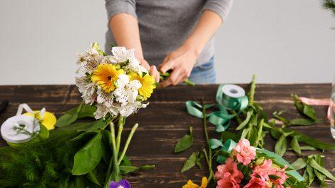 buquês de flores